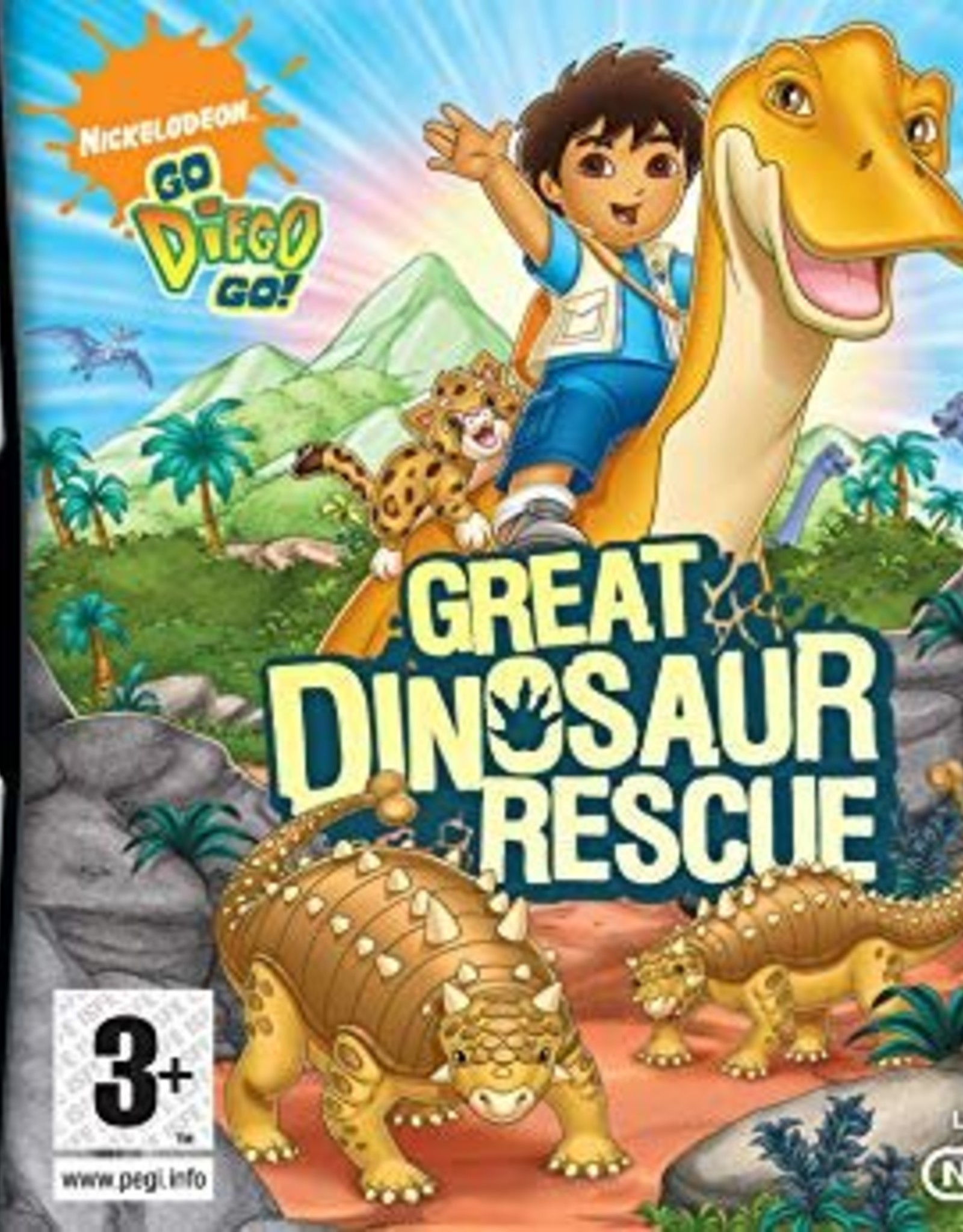 Go Diego Great Dinosaur Res - NDS NEW