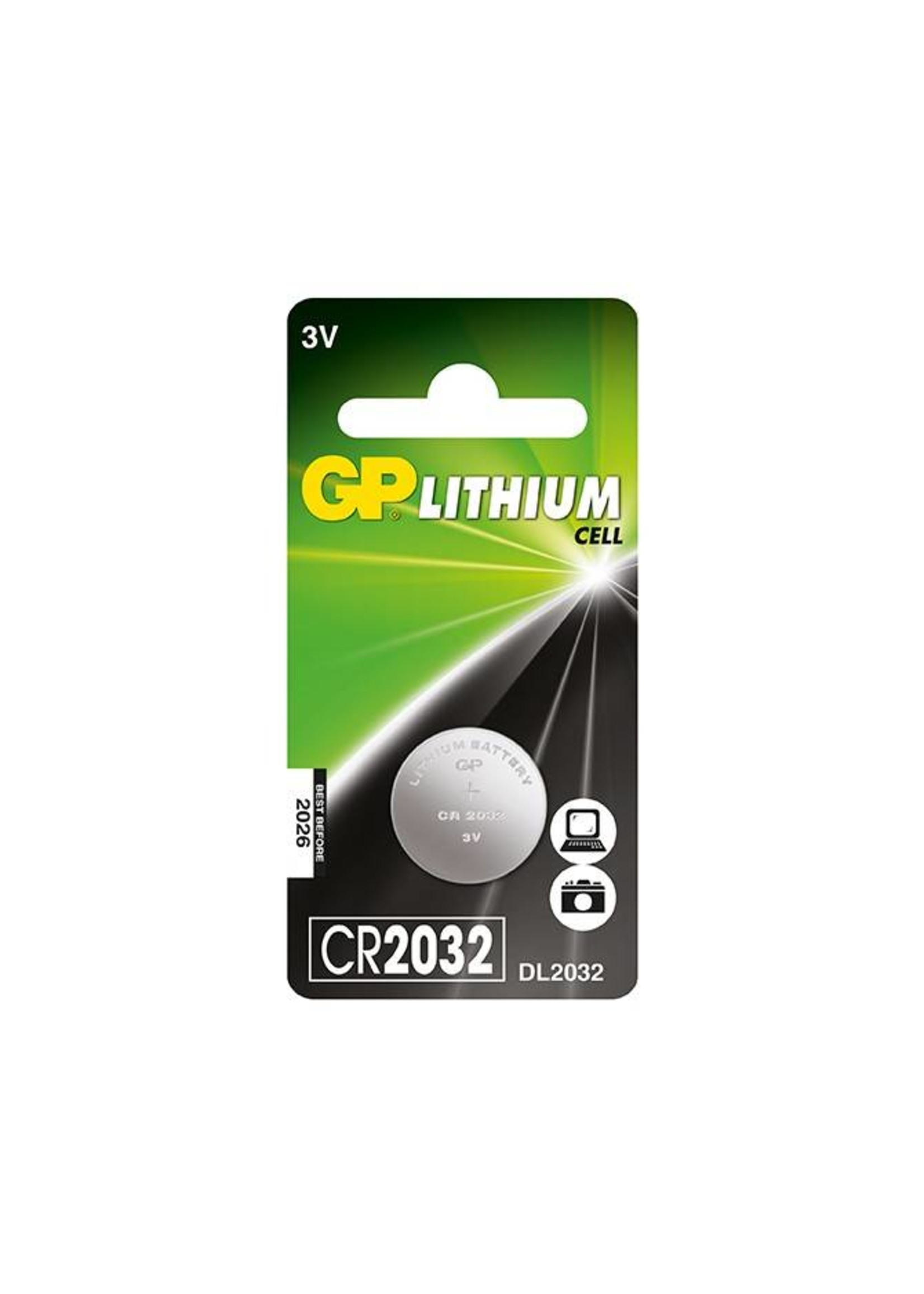 GP GP Lithium Cell CR2032 Battery