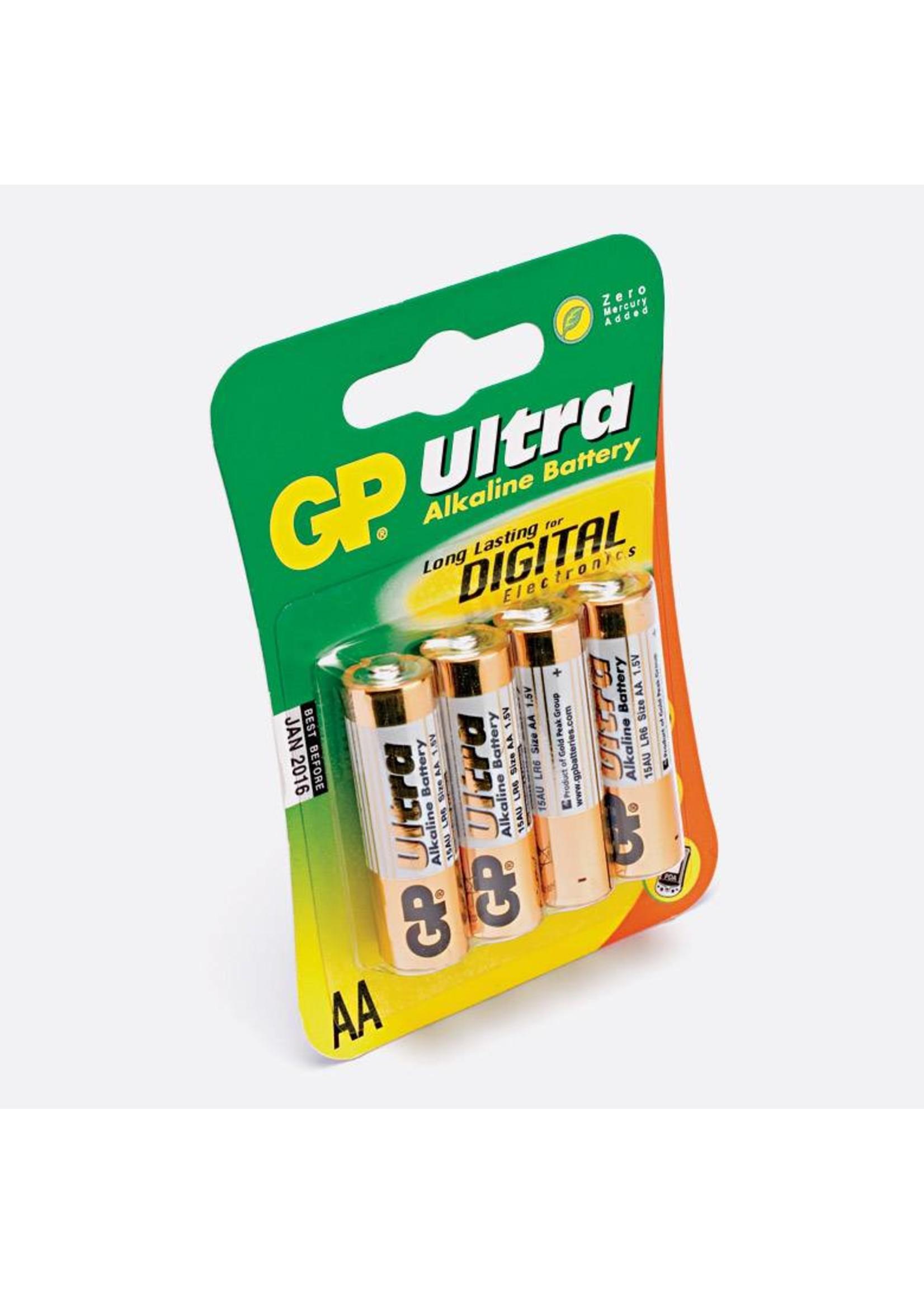 GP GP Alkaline AA 4 Pk Battery