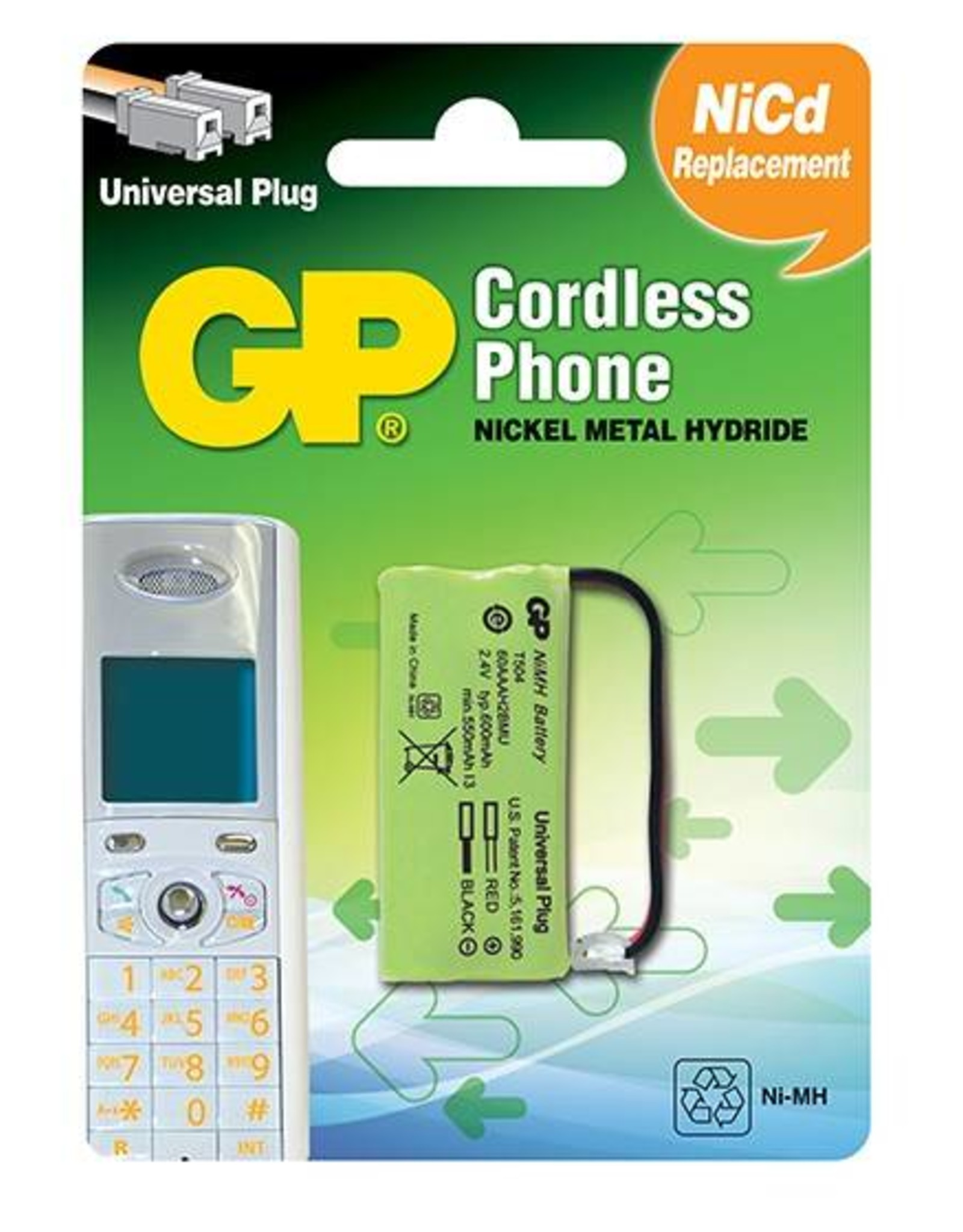 GP GP Phone Battery T-504