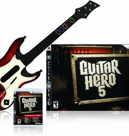 PS3 Guitar Hero 5 Bundle