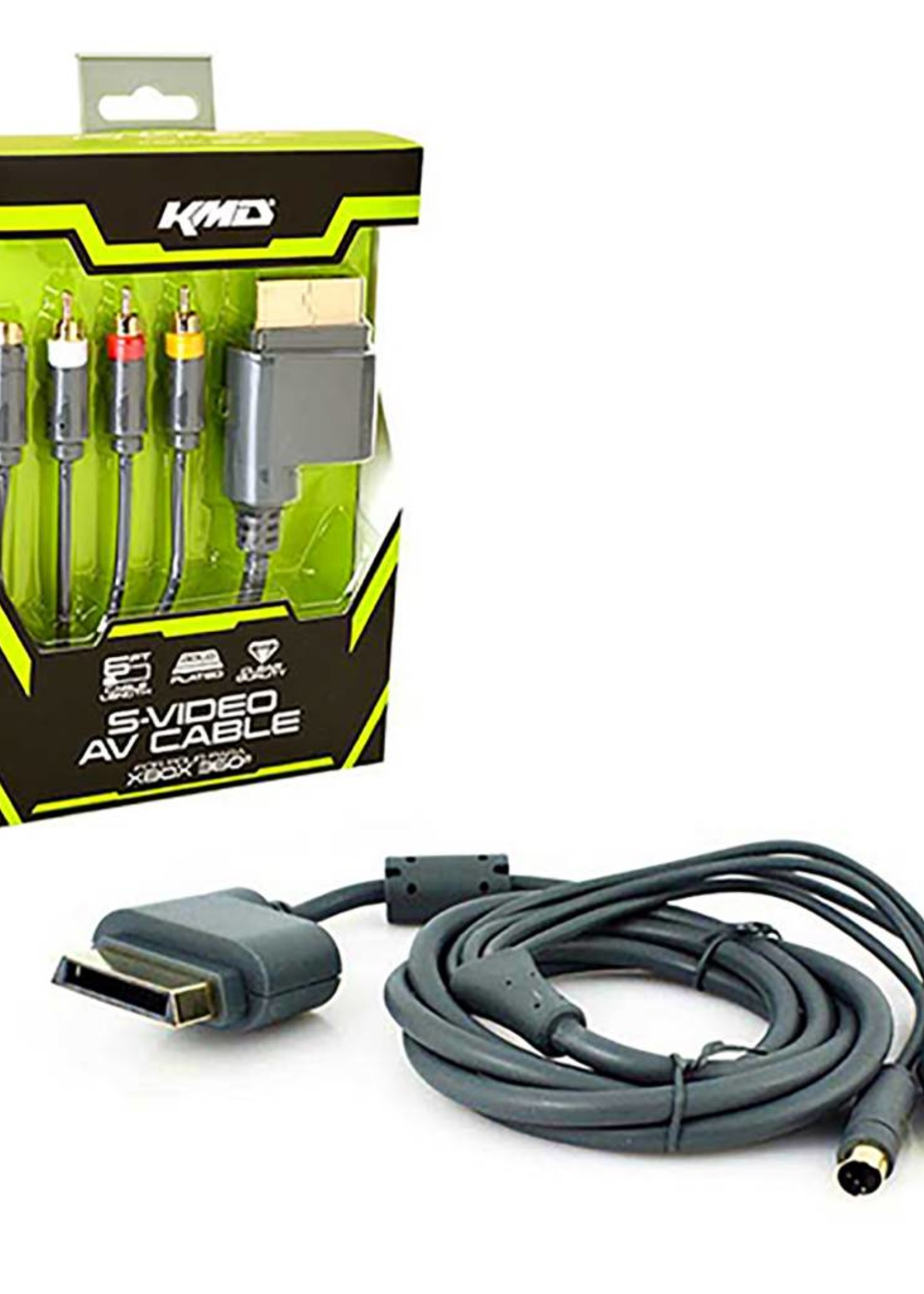 XB360 AV / S-Video Cable KMD Cable