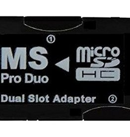 PSP Dual Micro SD - Pro Duo Ad