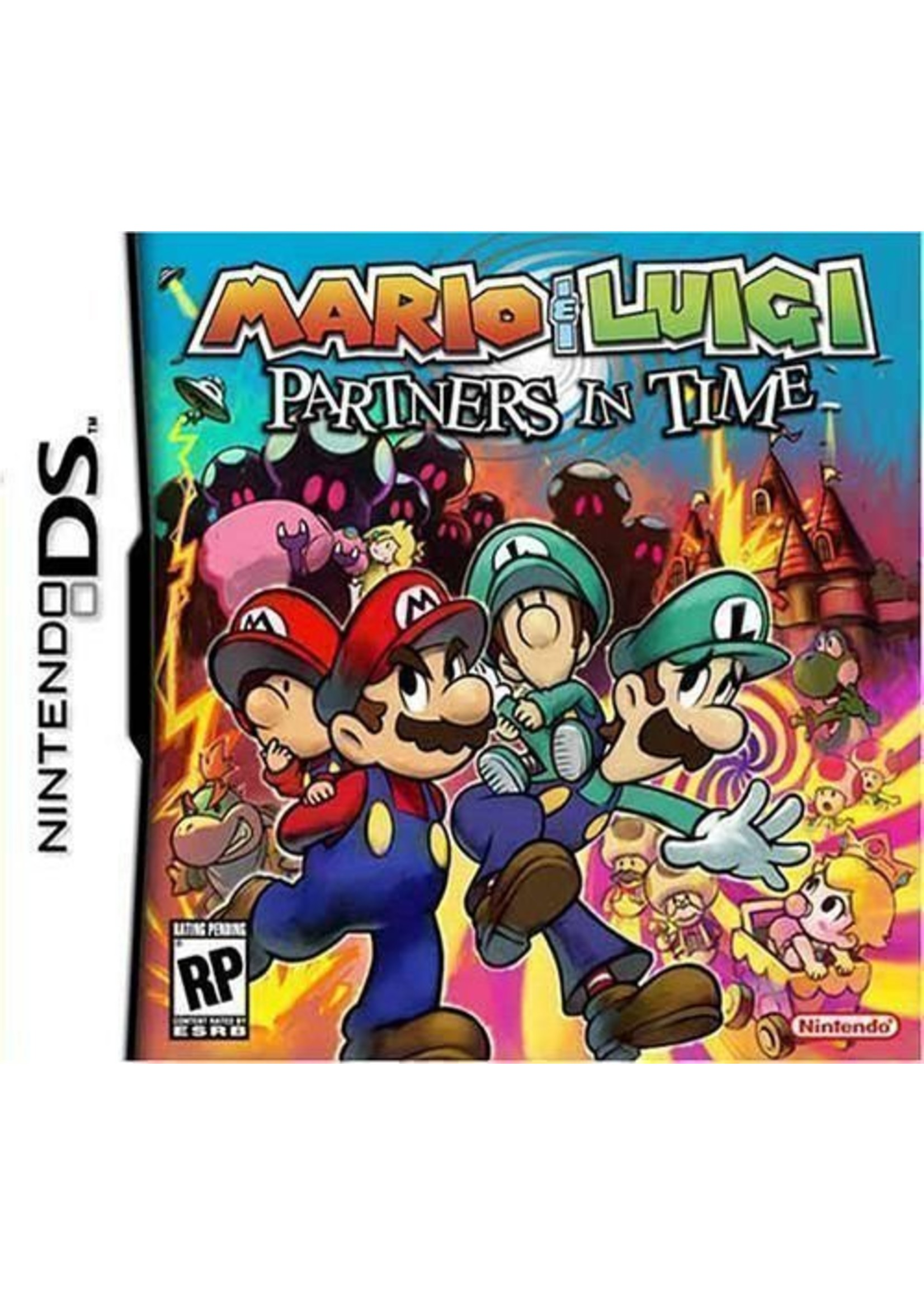 Mario & Luigi: Partners in Time - NDS PrePlayed