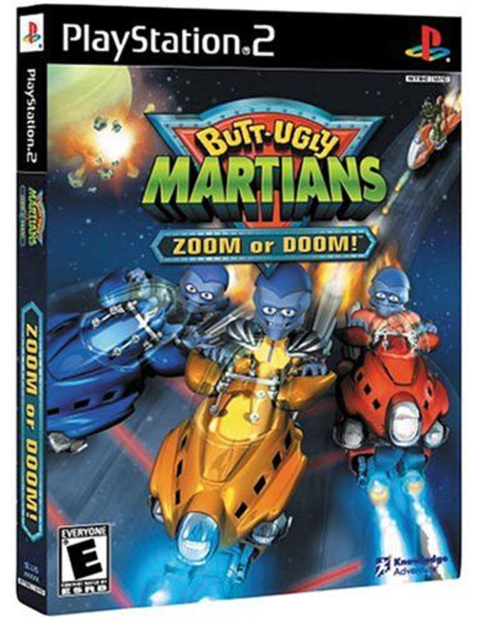 Butt Ugly Martians - PS2 PrePlayed