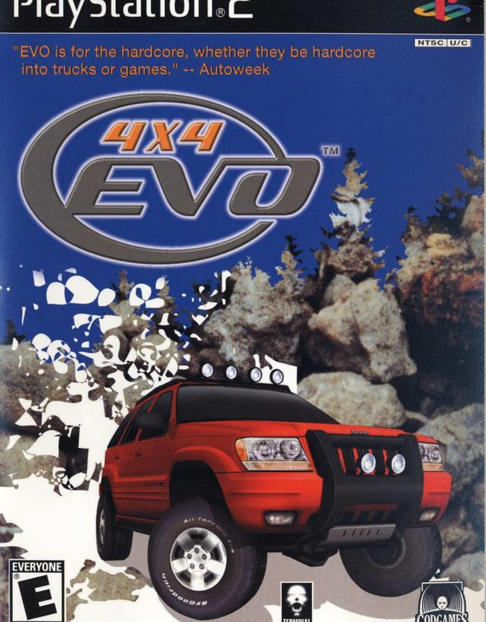 4x4 Evolution - PS2 PrePlayed