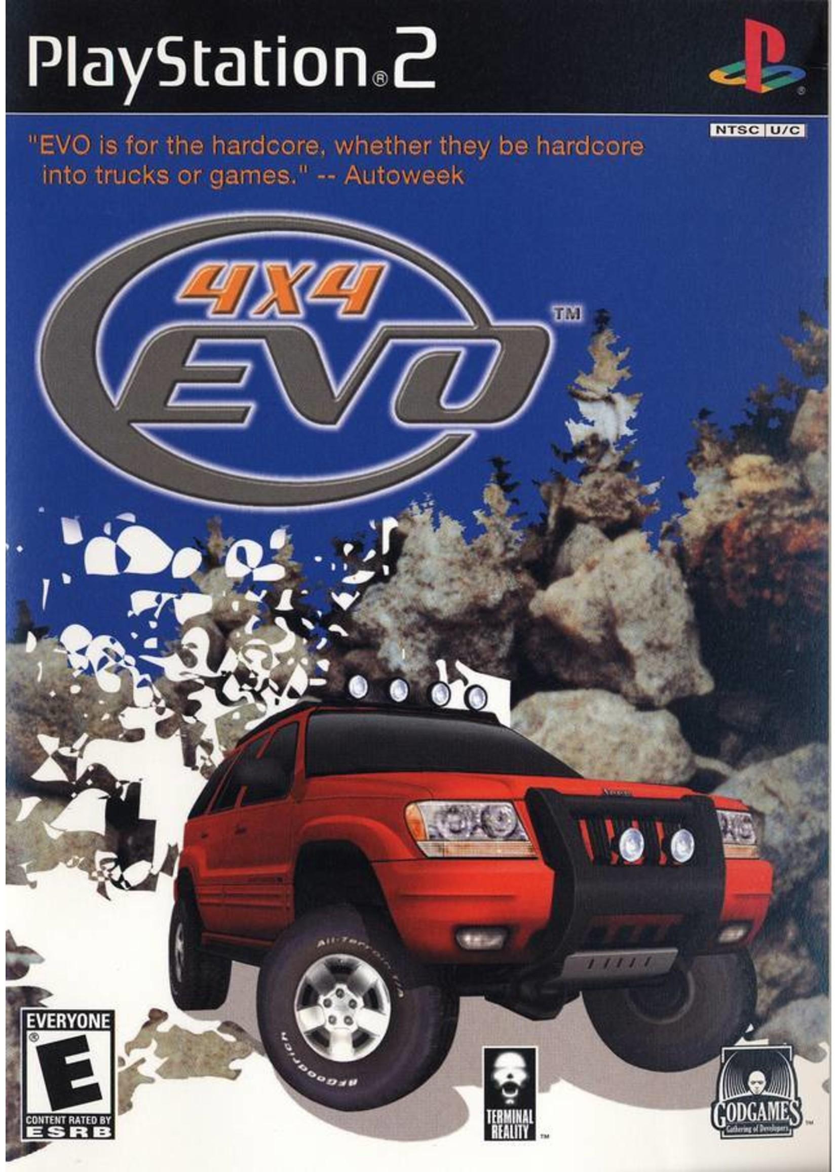 4x4 Evolution - PS2 PrePlayed