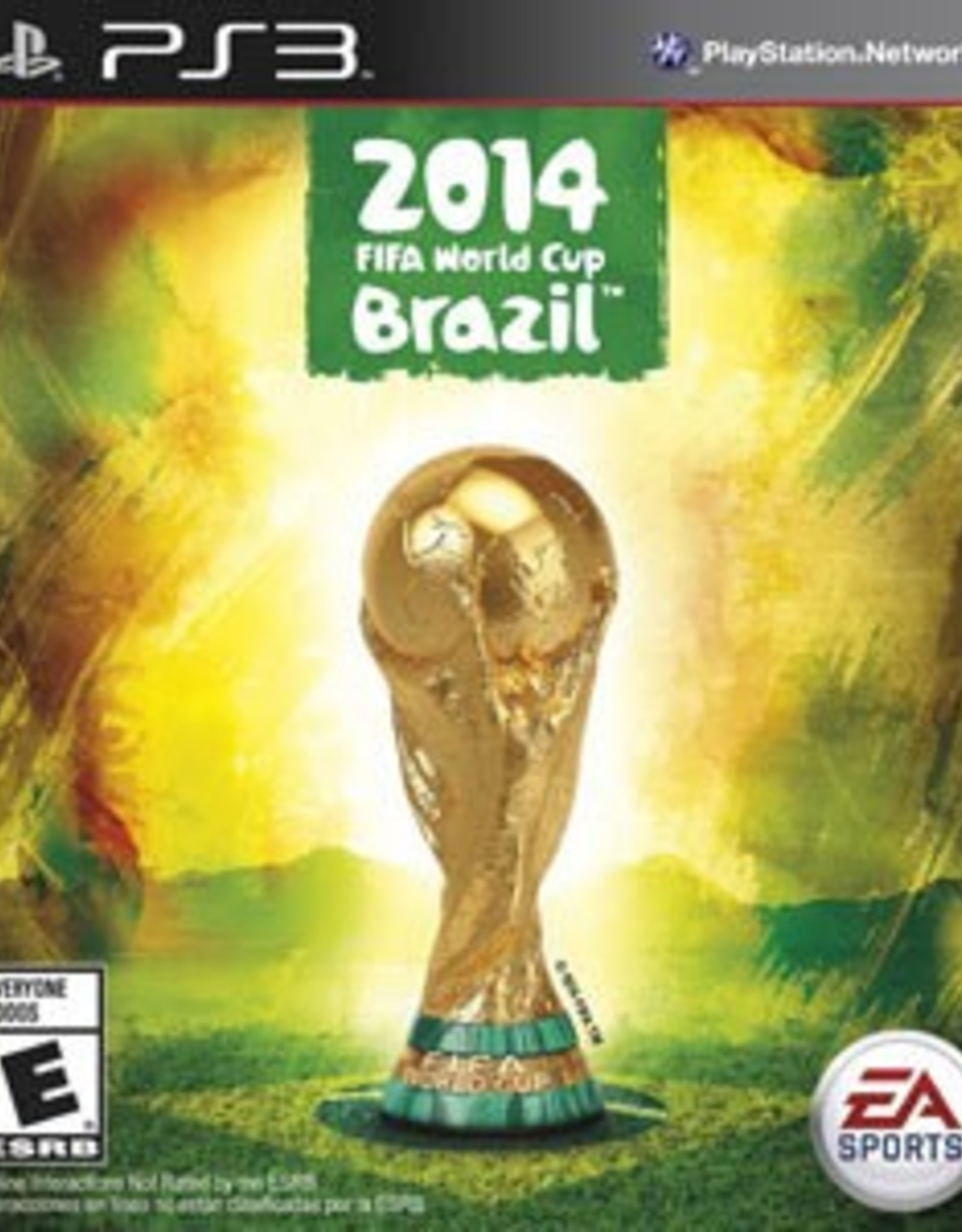 FIFA 2014 World Cup Brazil - PS3 PrePlayed