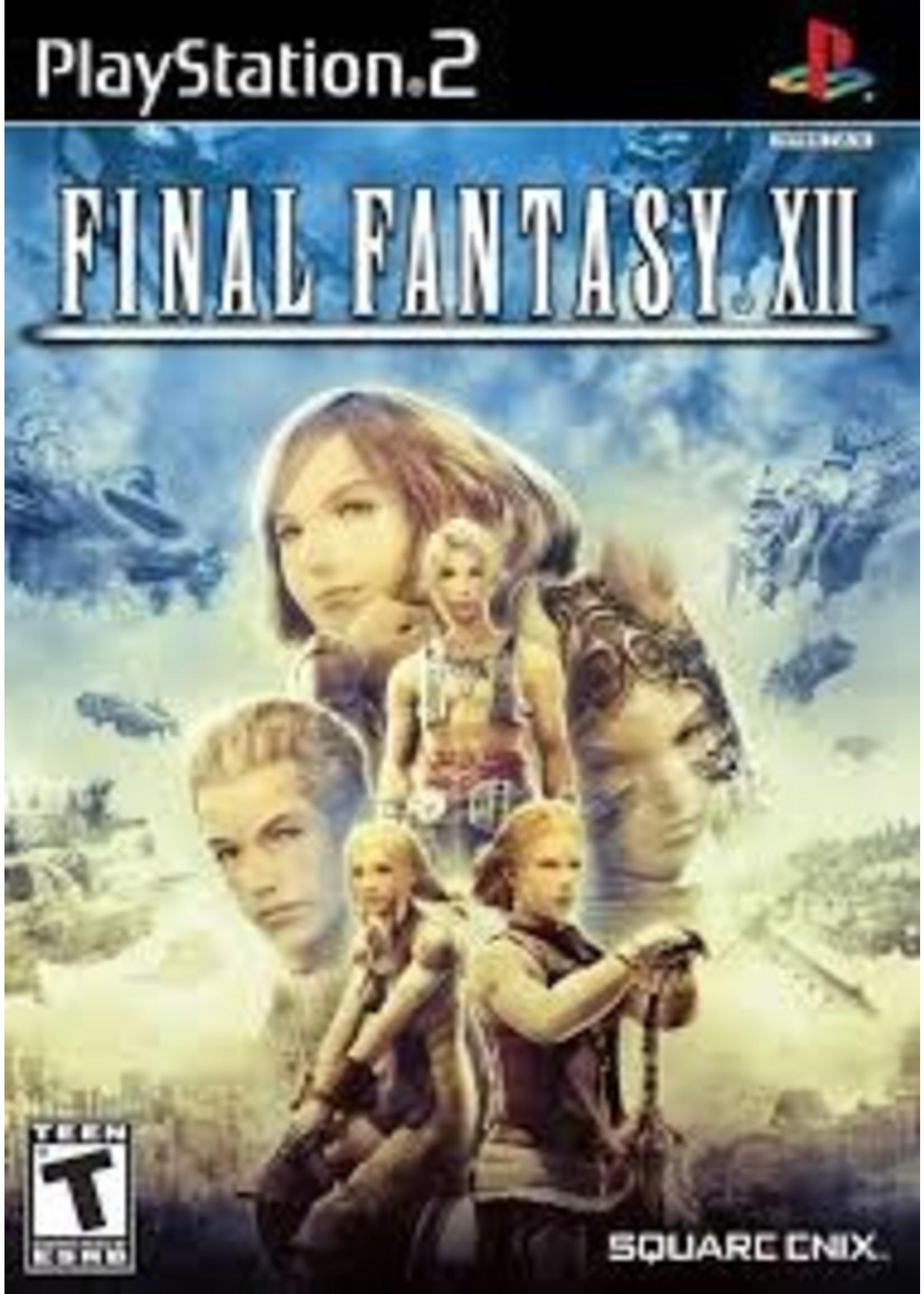 Final Fantasy 12 - PS2 PrePlayed
