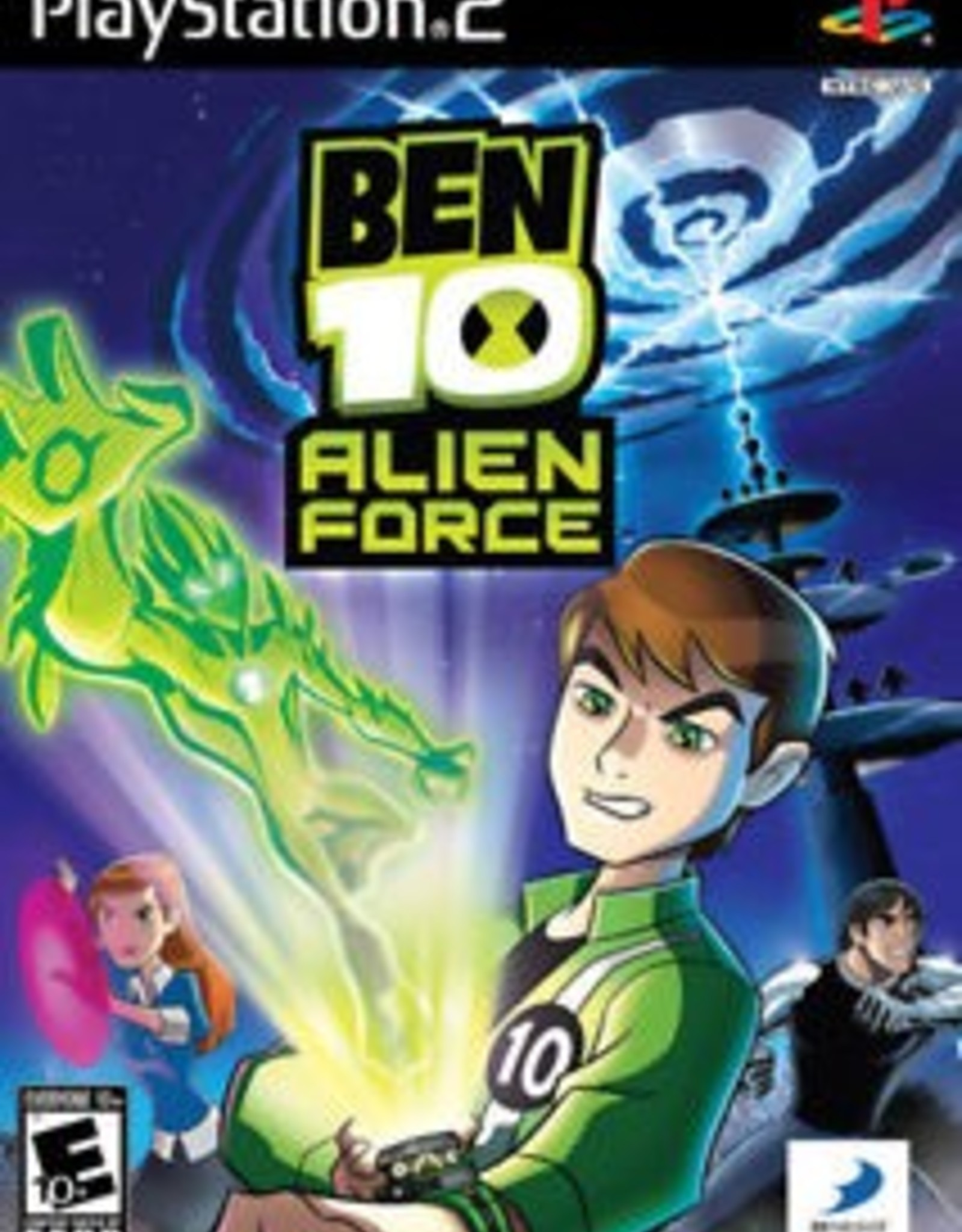 Ben 10: Alien Force - PS2 PrePlayed