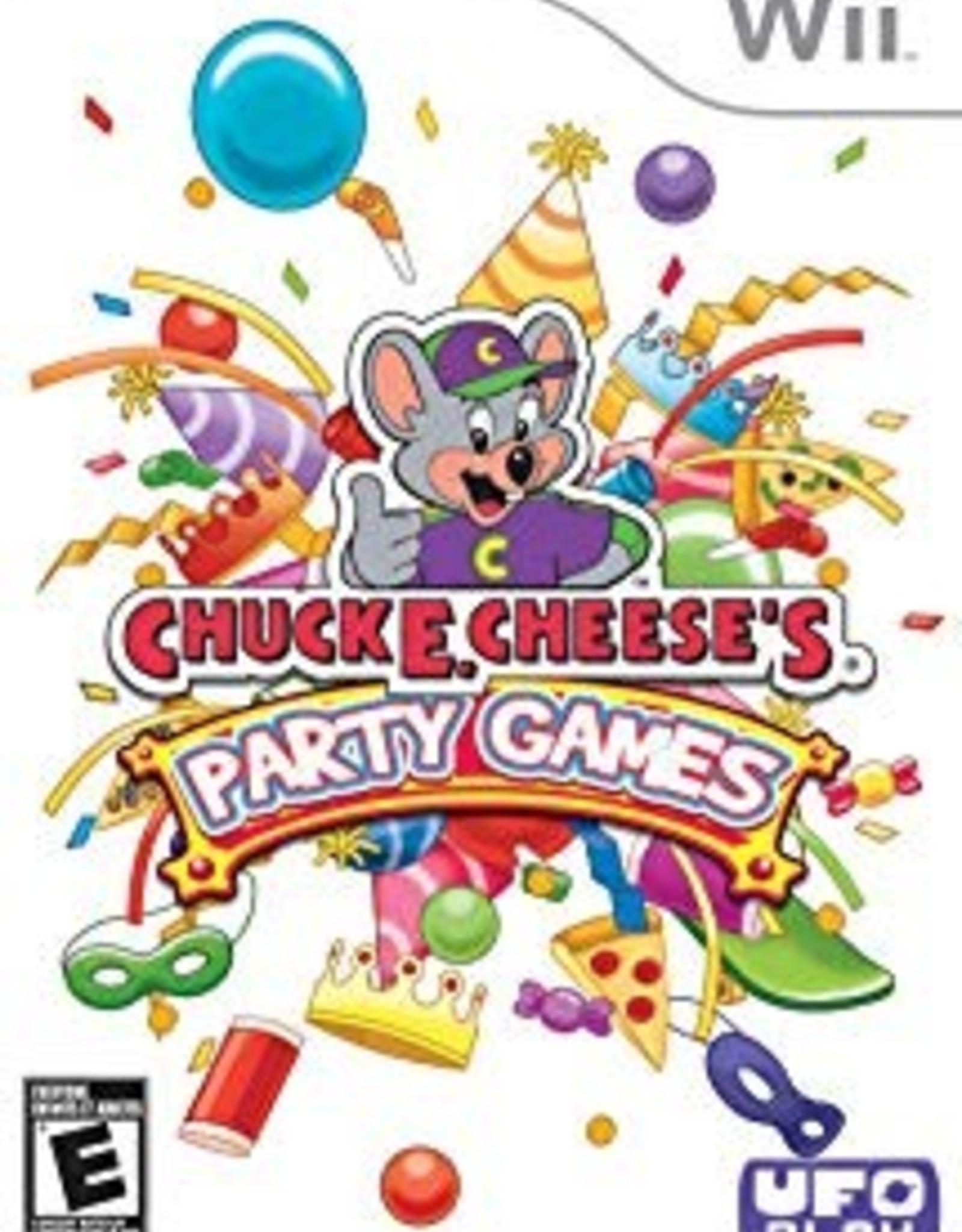 Chuck E Cheese's Party Games - WII PrePlayed