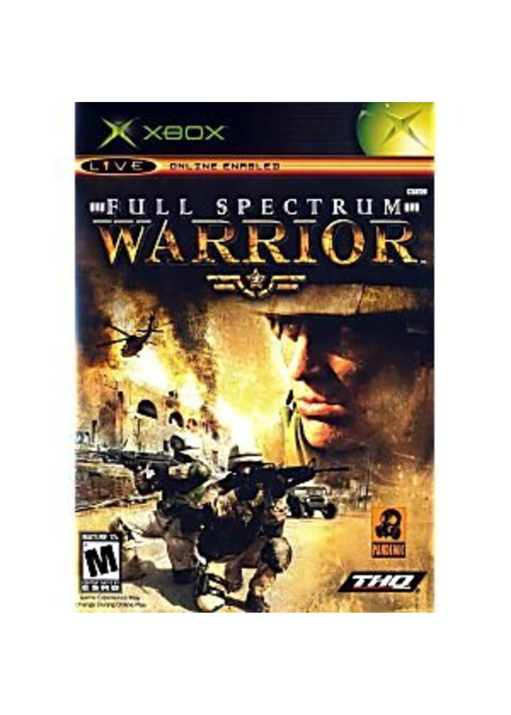 Full Spectrum Warrior - XBOX PrePlayed