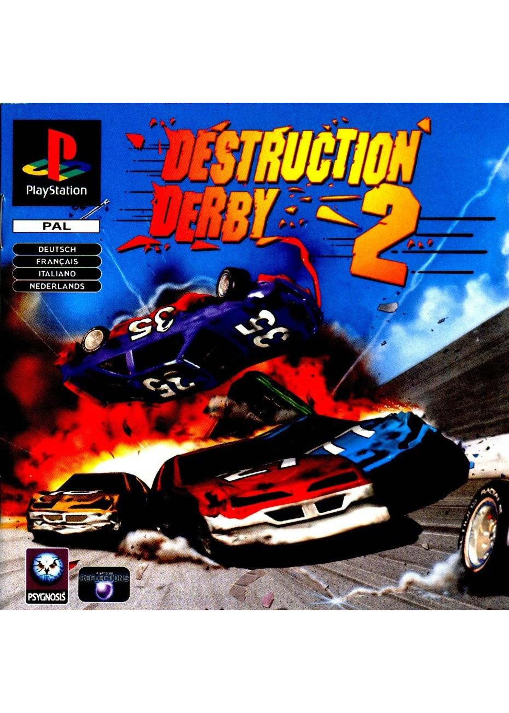 Destruction Derby 2 - PS1 PrePlayed