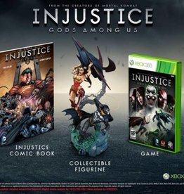 Injustice: Gods Among Us Collectors Edition - XB360 NEW