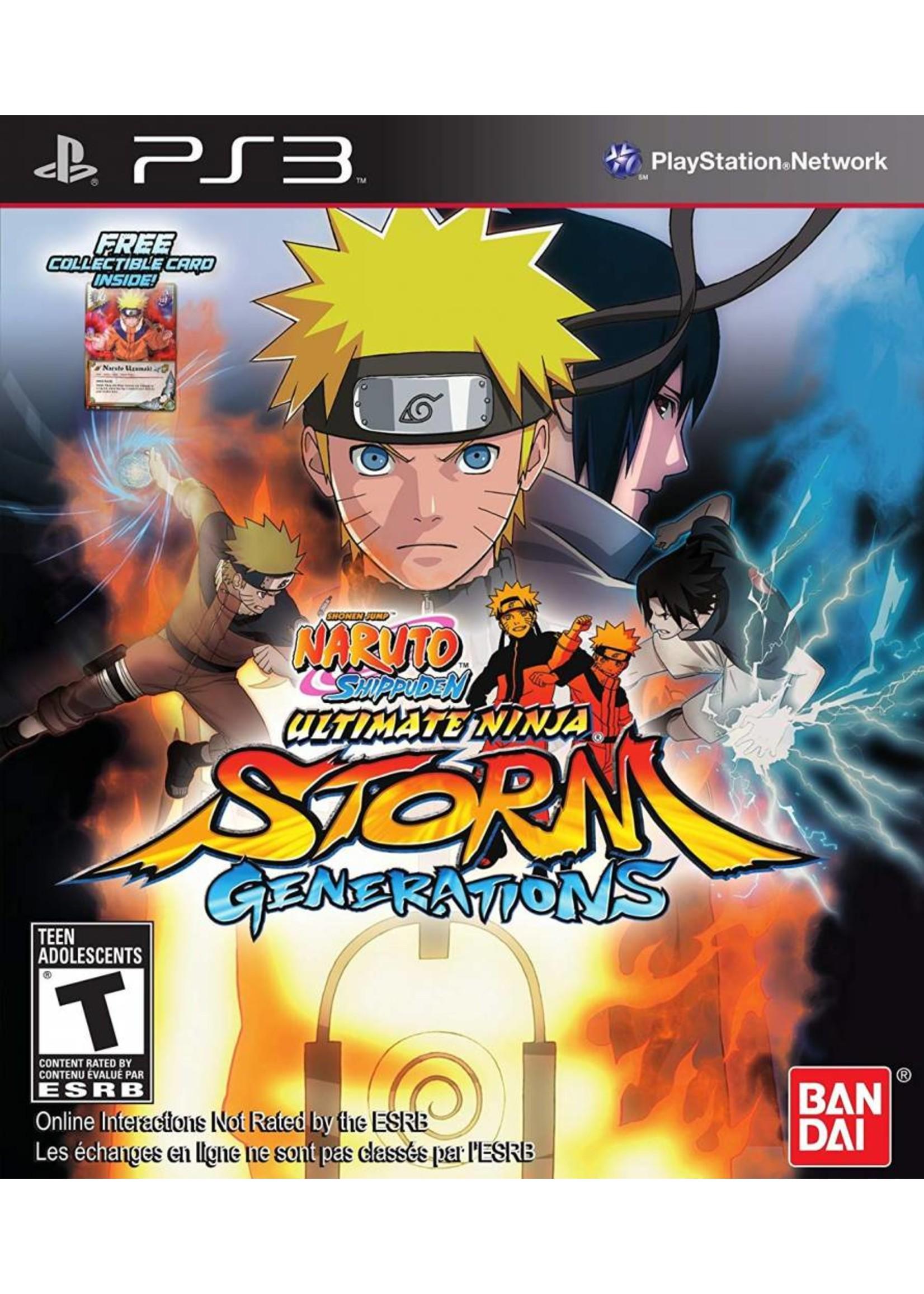 Naruto Shippuden: Ultimate Ninja Storm Generations - PS3 PrePlayed