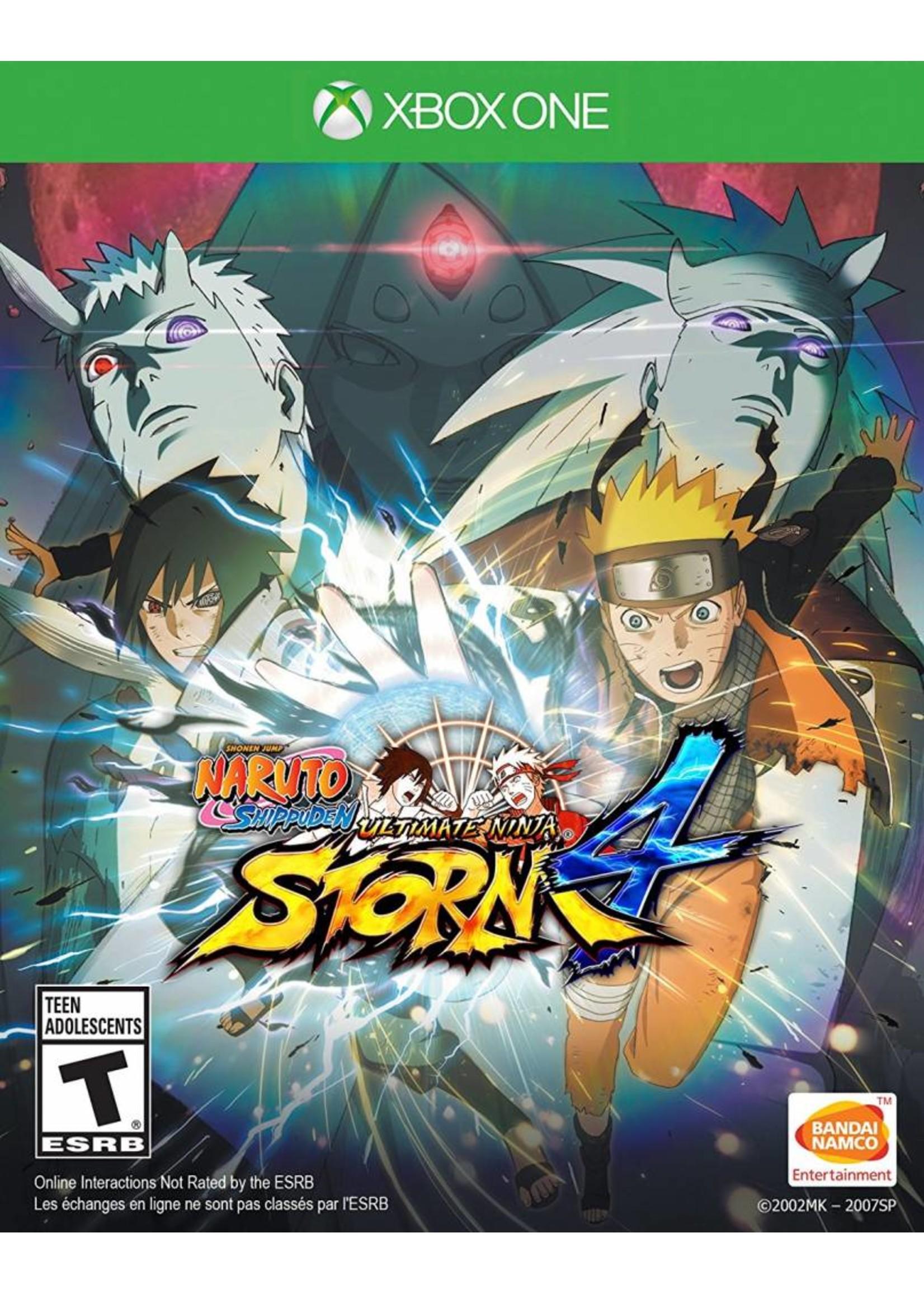 Naruto Shippuden: Ultimate Ninja Storm 4 - XBOne PrePlayed