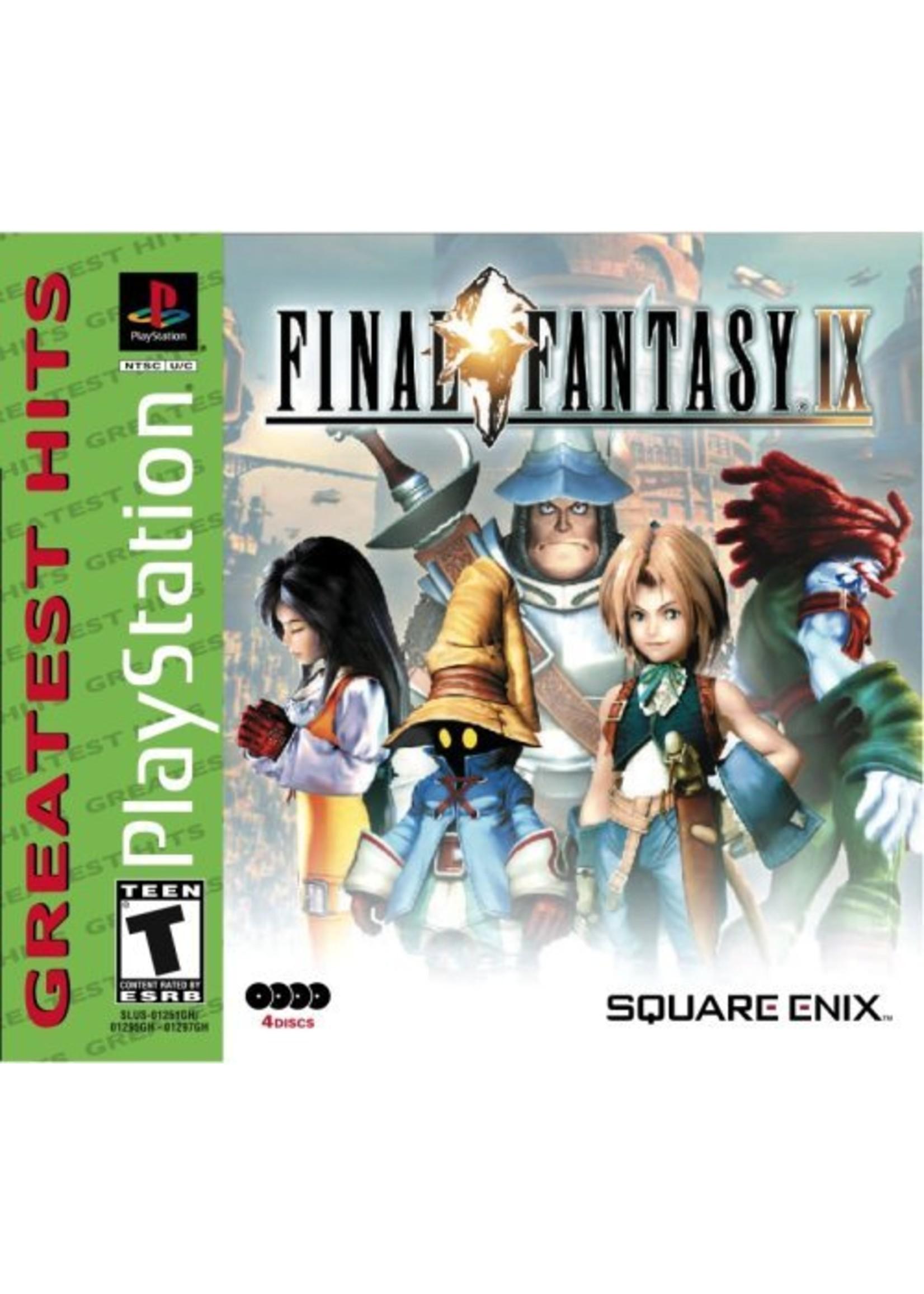 Final Fantasy 9 - PS1 PrePlayed