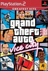 GTA Grand Theft Auto Vice City - PS2 PrePlayed