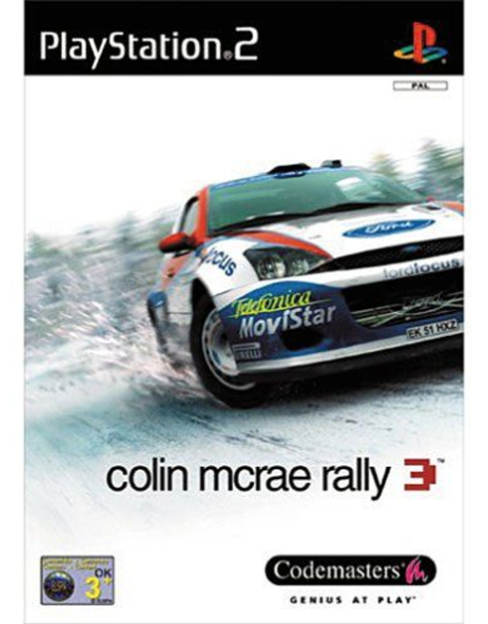 Colin Mcrae Rally 3 - PS2 PrePlayed