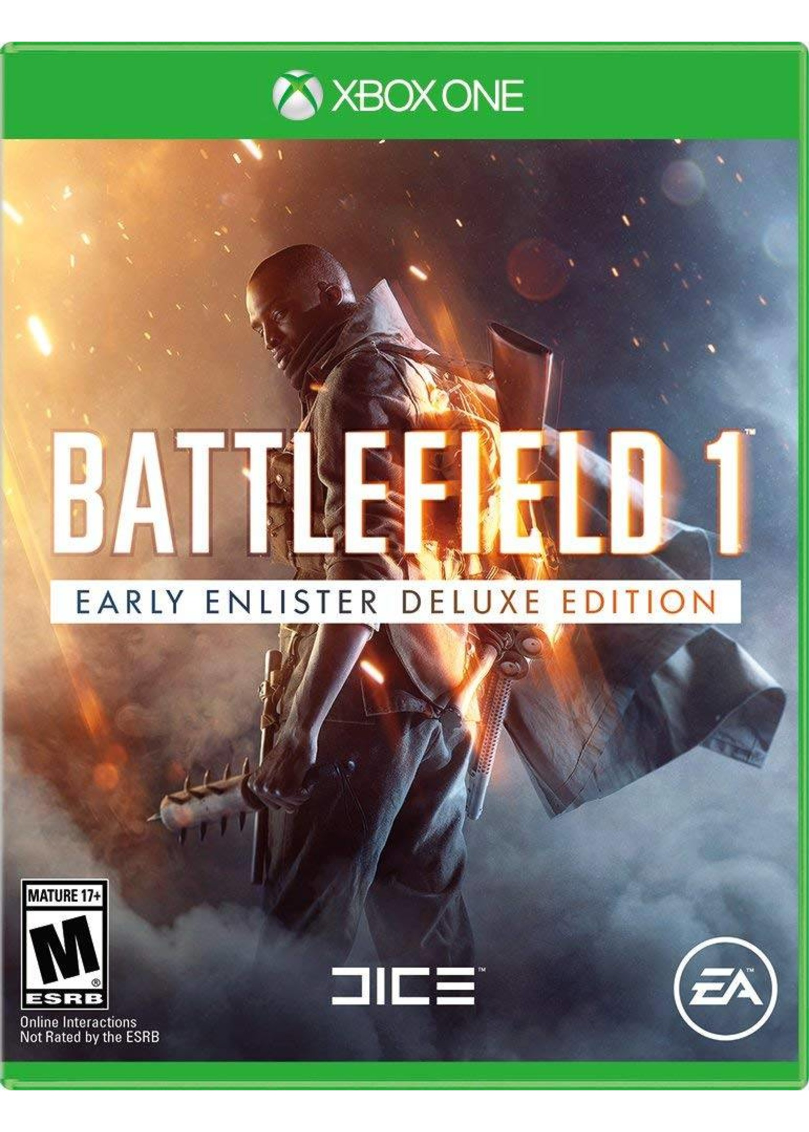 Battlefield 1 Early Enlister Deluxe Edition - XBOne NEW