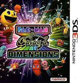 Pac Man and Galaga Dimensions - 3DS PrePlayed