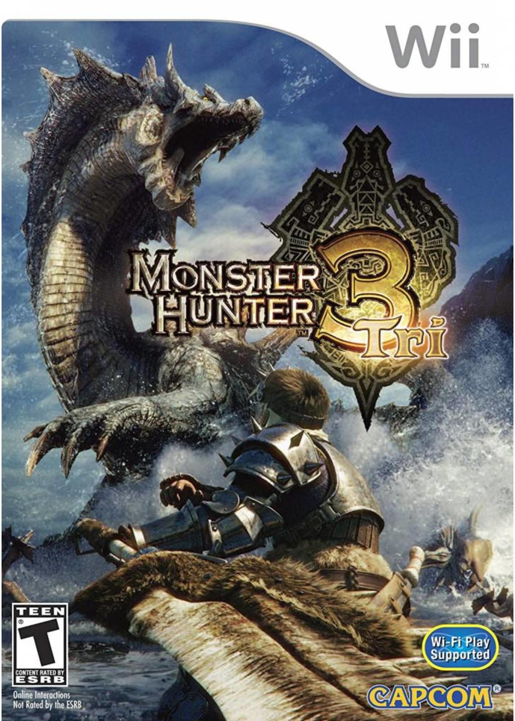 Monster Hunter Tri - WII NEW