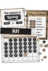Industrial Chic Calendar Bulletin Board