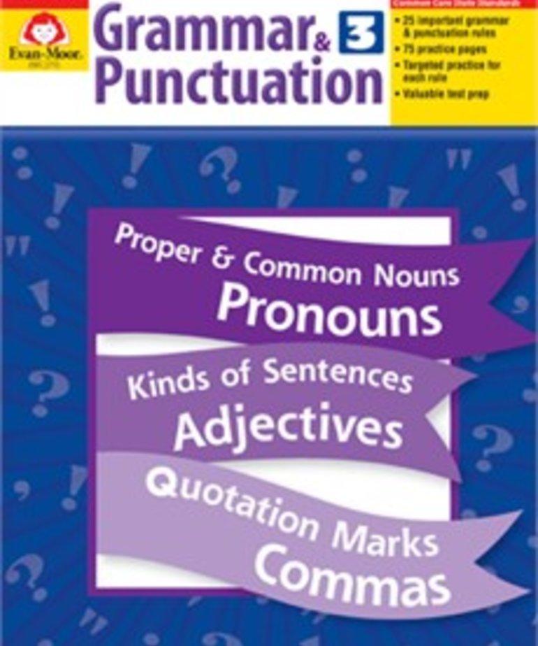 Evan-Moor Grammar & Punctuation-Grade 3