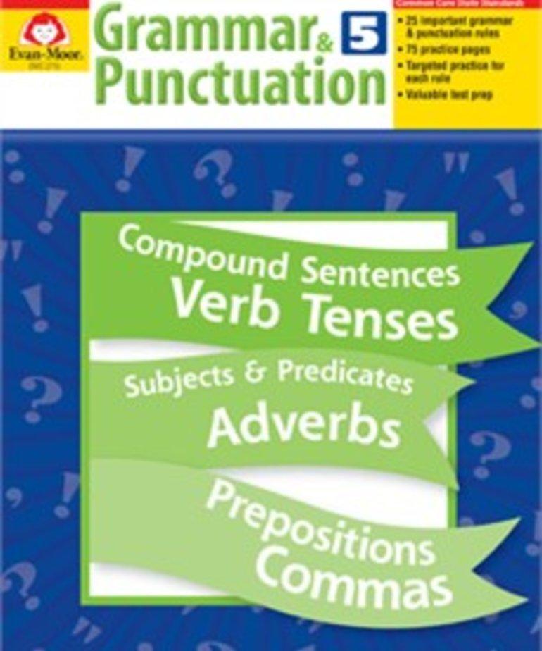 Evan-Moor Grammar & Punctuation- Grade 5