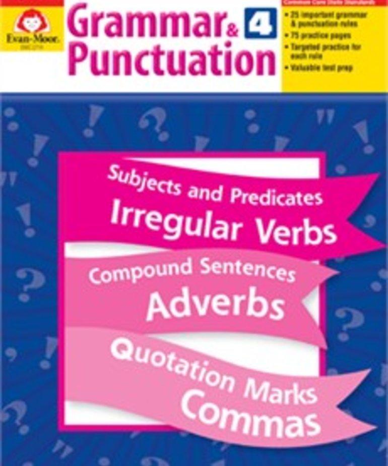 Evan-Moor Grammar & Punctuation- Grade 4
