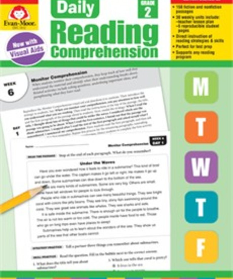 Evan-Moor Daily Reading Comprehension- Grade 2