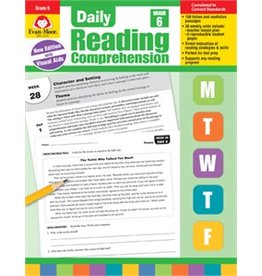 Daily Reading Comprehension-Grade 6