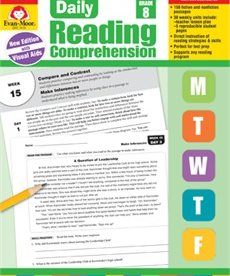Evan-Moor Daily Reading Comprehension-Grade 8