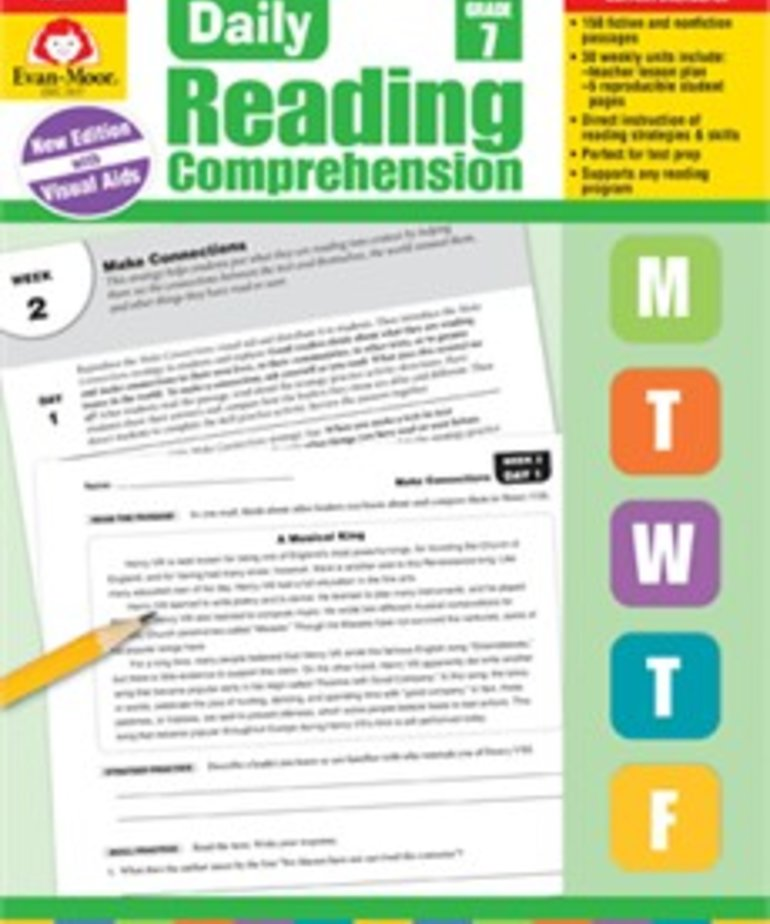 Evan-Moor Daily Reading Comprehension-Grade 7