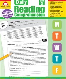 Evan-Moor Daily Reading Comprehension- Grade 5