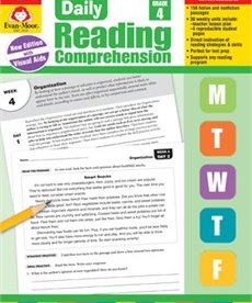 Evan-Moor Daily Reading Comprehension- Grade 4