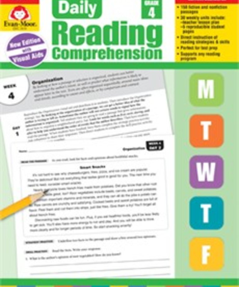 Daily Reading Comprehension- Grade 4
