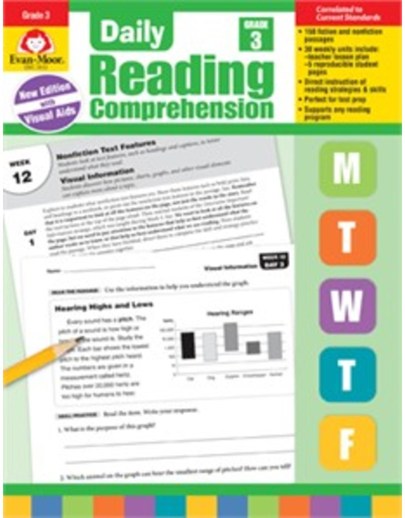 Daily Reading Comprehension- Grade 3