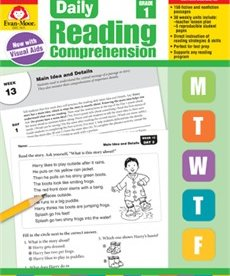 Evan-Moor Daily Reading Comprehension- Grade 1