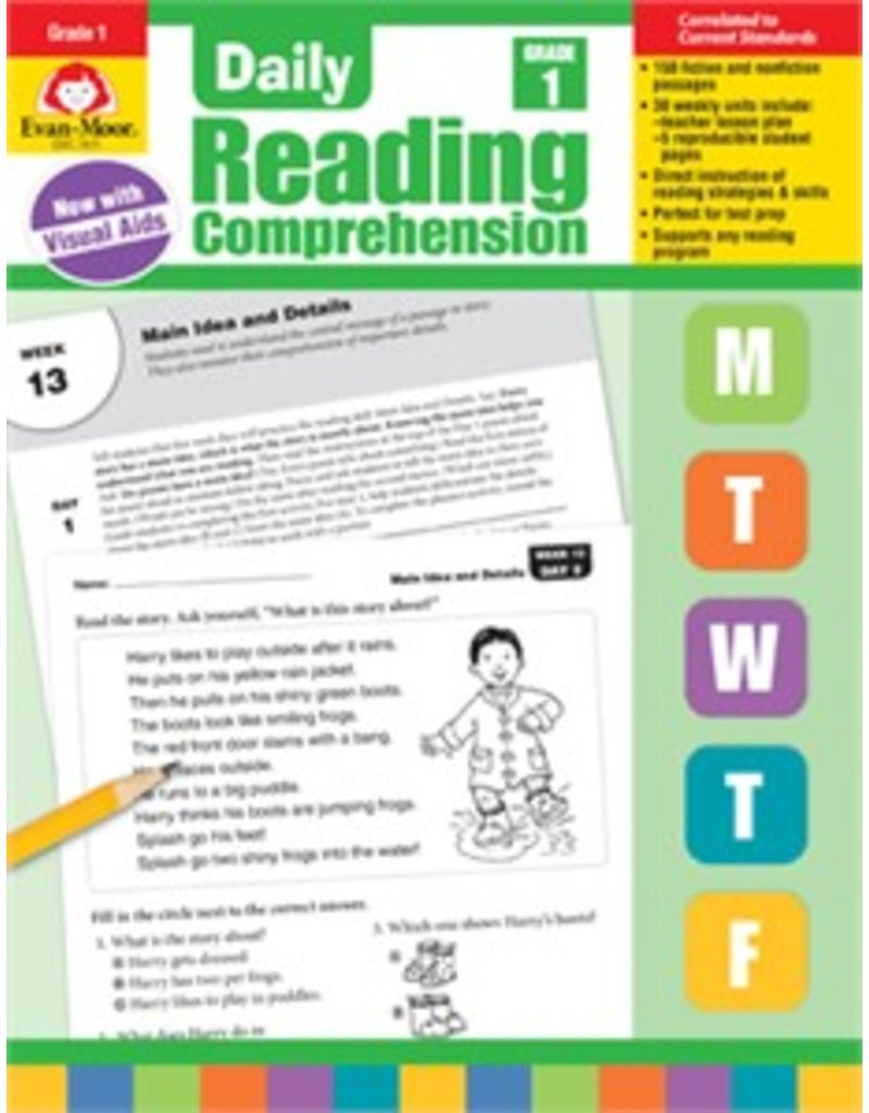 Daily Reading Comprehension- Grade 1