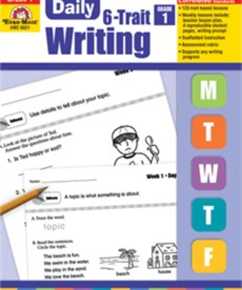 Evan-Moor Daily 6 Trait Writing- Grade 1