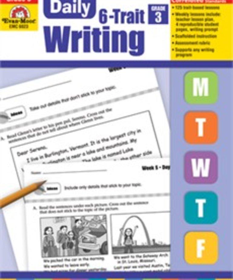 Daily 6 Trait Writing-Grade 3