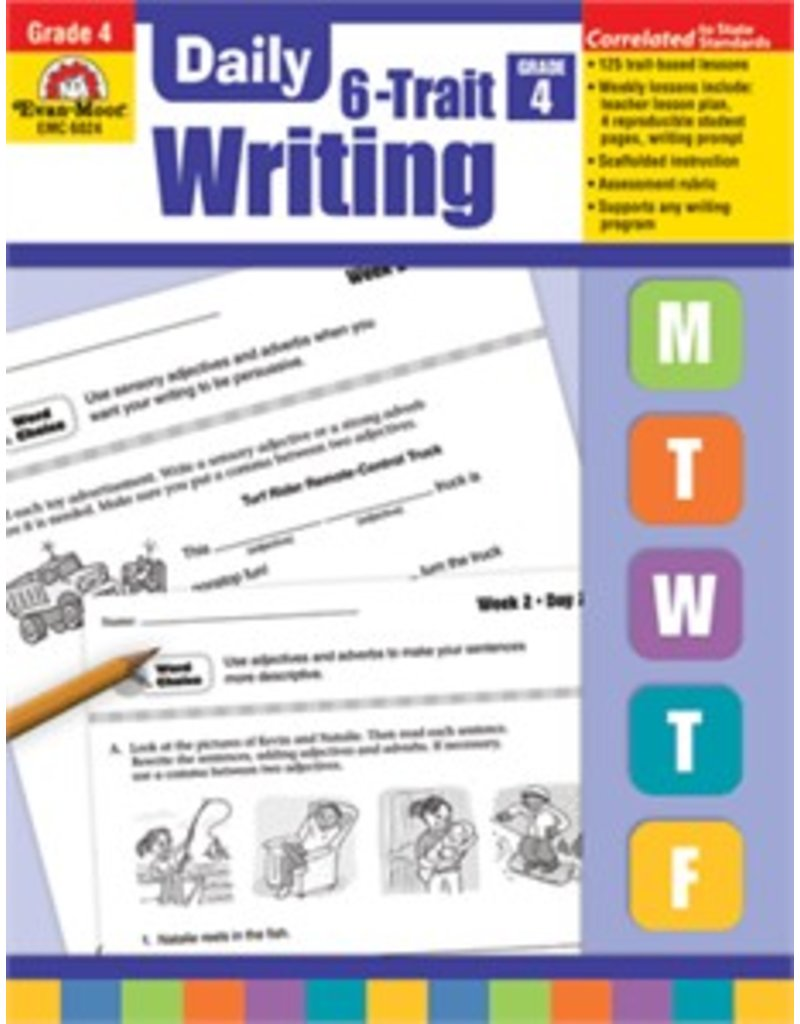 Daily 6 Trait Writing- Grade 4