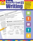 Evan-Moor Daily 6 Trait Writing- Grade 6