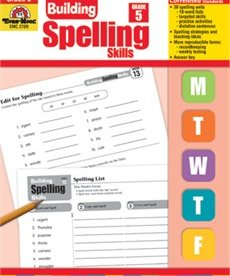Evan-Moor Building Spelling Skills- Grade 5