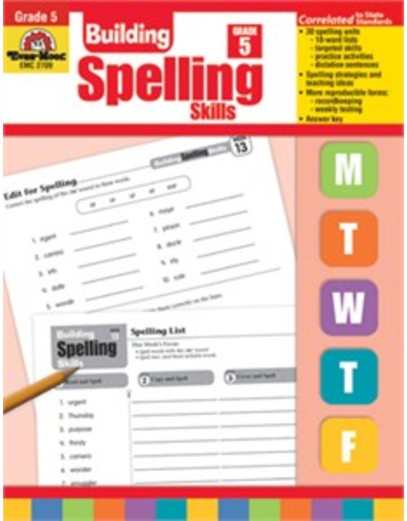 Building Spelling Skills- Grade 4