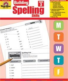 Evan-Moor Building Spelling Skills- Grade 3