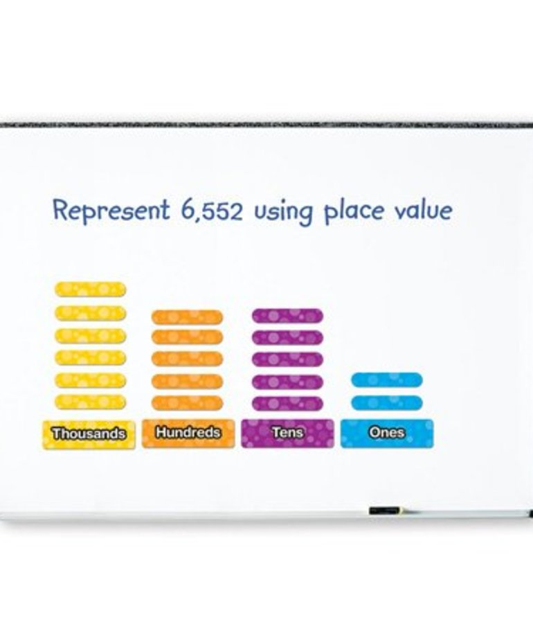 Learning Resources Giant Magnetic Place Value Set