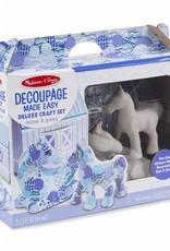 Melissa & Doug Decoupage Made Easy-Horse and Pony