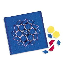 Learning Resources Two-Sided Geoboard